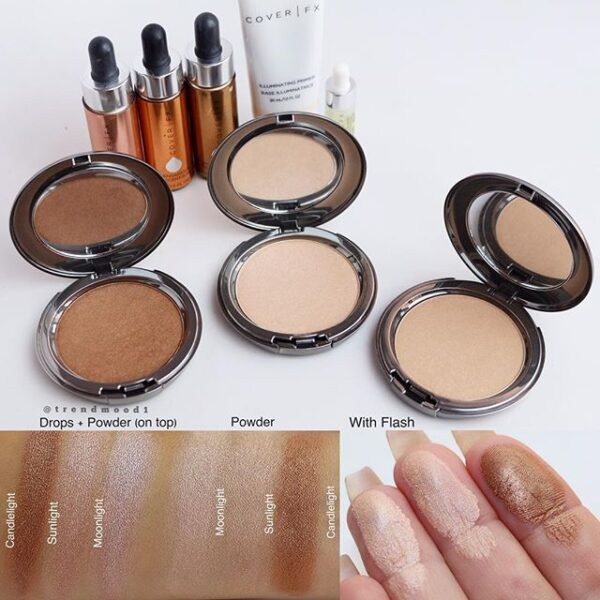 Swatches New By Coverfx The Perfect Light Highlighting